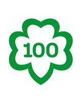 100th mark