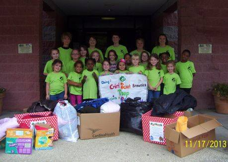 Community Service in Girl Scouts