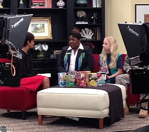 on the set of Lowcountry Live